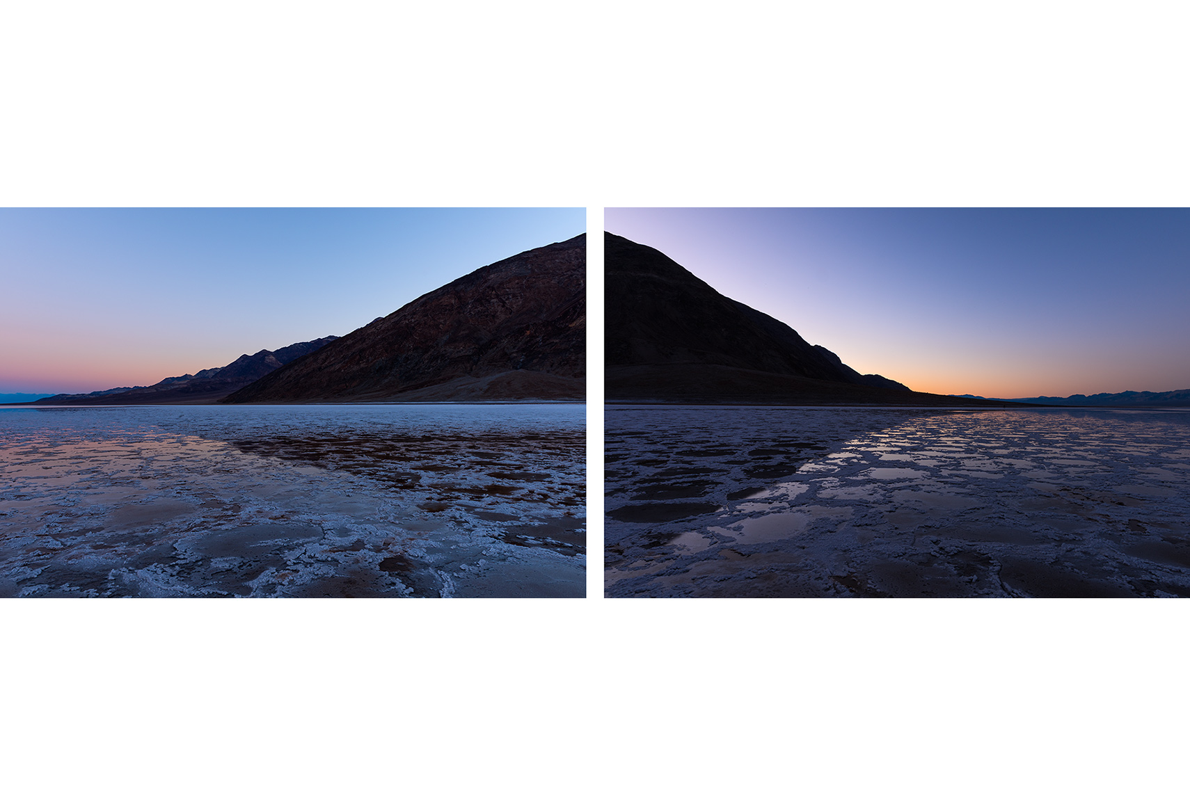 Badwater-collage
